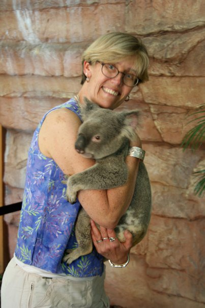 Nina Perry With Khola Bear