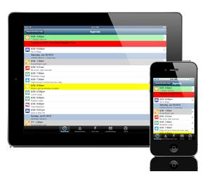 StopJetLag on iPad and iPhone
