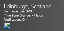 Live Tile Edinburgh Info