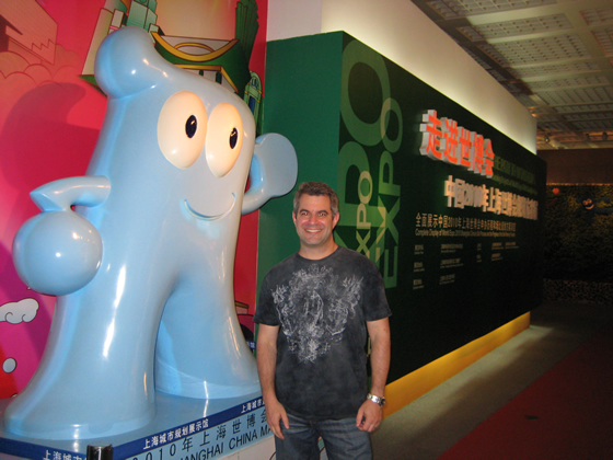 Jordon Goldstein in Shanghai, China