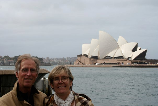 Sheldon and Nina Perry at Sydney, Australia Opera House