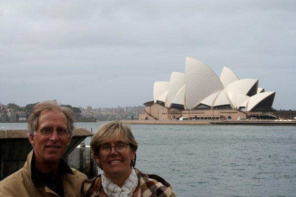 Sheldon and Nina Perry at Sydney, Australia Opera House