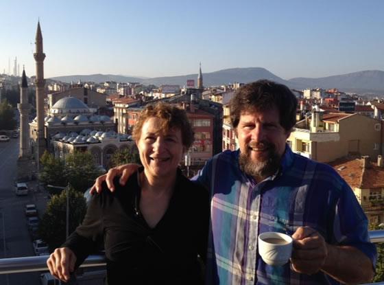 Carla Hellekson in AliBilar, Turkey - Stop Jet Lag